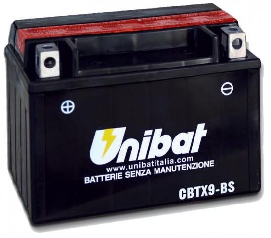 Akumuliatorius UNIBAT (UNICBTX9BS)