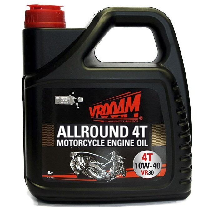 Pusiau sintetinė VROOAM VR30 Allround alyva 4T 10W-40 4L