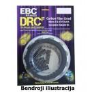 Sankabos komplektas EBC-DRCF131 (DRCF Carbon Fiber)