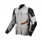 Textile jacket Macna Fusor (Beige/Brown/Black)