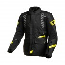 Textile jacket Macna Ultimax (Black/Yellow)
