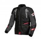 Textile jacket Macna Ultimax (Black/Red)