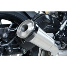 R&G Supermoto Style Oval Exhaust Protector (Can Cover)