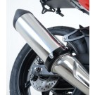 """R&G Supermoto Style 4.5"""" to 5.5"""" Round Exhaust Protector (Can Cover)"""