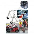 Superlengvas galinis motociklo stovas Biketek