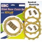 Sankabos komplektas EBC-SRK098 (Street Racer Kevlar)